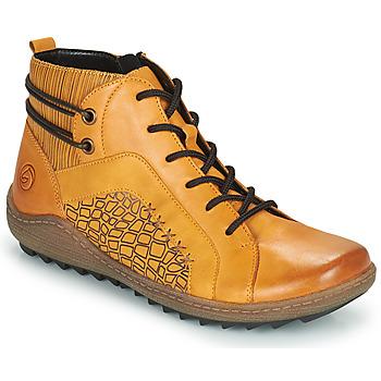 Schoenen Dames Hoge sneakers Remonte Dorndorf R1499-68 Geel