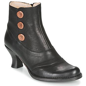 Schoenen Dames Enkellaarzen Neosens ROCOCO Zwart