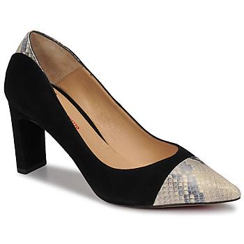 Schoenen Dames pumps Perlato JAMIRI Zwart / Beige
