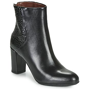 Schoenen Dames Enkellaarzen Perlato JAMICOT Zwart