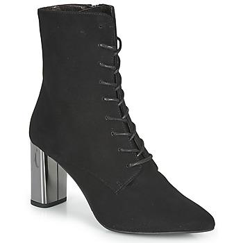 Schoenen Dames Enkellaarzen Perlato JAMOGA Zwart
