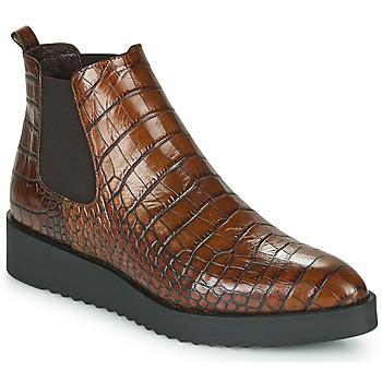 Schoenen Dames Laarzen Perlato JAMINO Brown