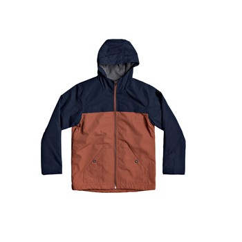 Textiel Jongens Wind jackets Quiksilver WAITING PERIOD Marine / Brown