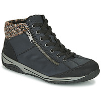 Schoenen Dames Laarzen Rieker L5223-00 Blauw