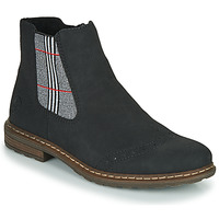 Schoenen Dames Laarzen Rieker 71072-02 Zwart / Multicolour