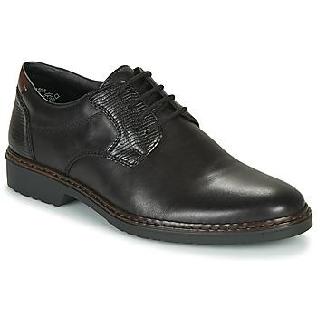 Schoenen Heren Derby Rieker 16541-02 Zwart