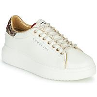 Schoenen Dames Lage sneakers Serafini J.CONNORS Wit / Python
