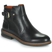 Schoenen Dames Laarzen Pikolinos ALDAYA W8J Zwart