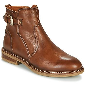 Schoenen Dames Laarzen Pikolinos ALDAYA W8J Brown