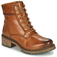 Schoenen Dames Laarzen Pikolinos ASPE W9Z Brown