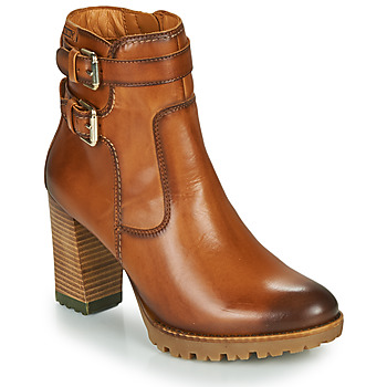 Schoenen Dames Enkellaarzen Pikolinos CONNELLY W7M Brown