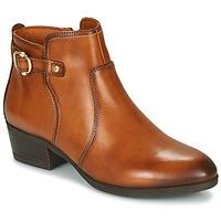 Schoenen Dames Enkellaarzen Pikolinos DAROCA W1U Brown