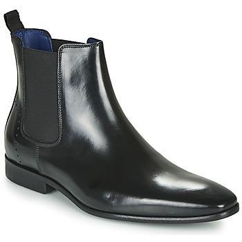 Schoenen Heren Laarzen Azzaro JAGER Zwart