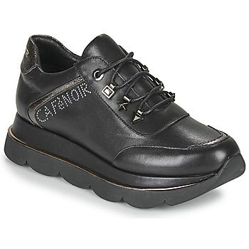 Schoenen Dames Lage sneakers Café Noir JIZELE Zwart