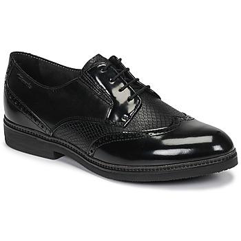 Schoenen Dames Derby Tamaris KELA Zwart