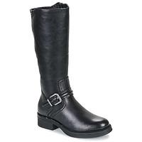 Schoenen Dames Hoge laarzen Tamaris TRIS Zwart