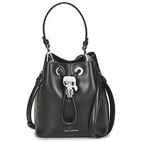 Tassen Dames Handtassen lang hengsel Karl Lagerfeld K/IKONIK BUCKET BAG Zwart