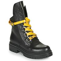 Schoenen Dames Laarzen Metamorf'Ose HADASSA Zwart