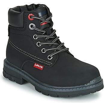 Schoenen Kinderen Laarzen Levi's NEW FORREST Zwart