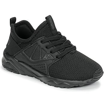 Schoenen Kinderen Lage sneakers Kappa SAN DIEGO ELASTIC Zwart