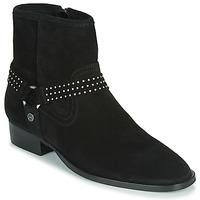 Schoenen Dames Laarzen Ikks BOOTS GAUCHO Zwart