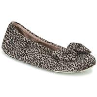 Schoenen Dames Sloffen Isotoner 97209 Leopard