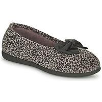 Schoenen Dames Sloffen Isotoner 97261 Leopard