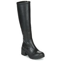 Schoenen Dames Hoge laarzen Musse & Cloud KAILA Zwart