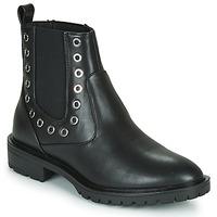 Schoenen Dames Laarzen Only ONLTINA 3 PU BOOT Zwart