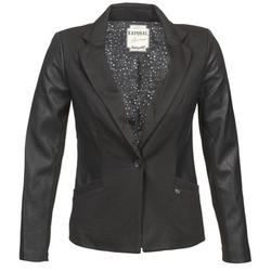 Textiel Dames Jasjes / Blazers Kaporal SOMA Zwart