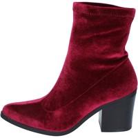Schoenen Dames Enkellaarzen Fornarina BM167 Violet