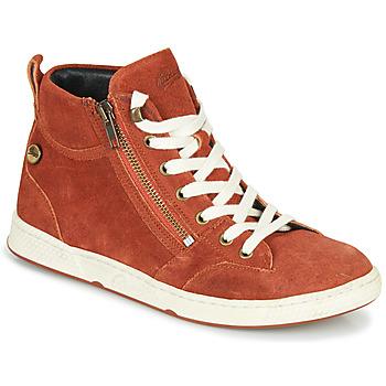 Schoenen Dames Hoge sneakers Pataugas JULIA/CR F4F Brique