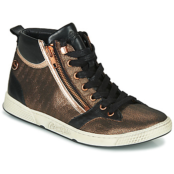 Schoenen Dames Hoge sneakers Pataugas JULIA/MIX F4F Roze / Gold / Zwart