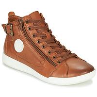 Schoenen Dames Hoge sneakers Pataugas PALME/N F4D Cognac