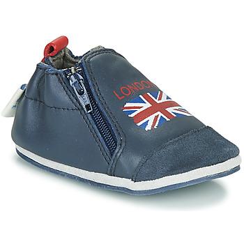 Schoenen Kinderen Sloffen Robeez LONDON FLAG Marine