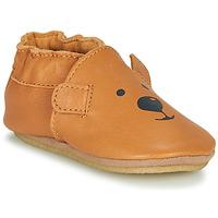 Schoenen Kinderen Sloffen Robeez SWEETY BEAR CRP  camel