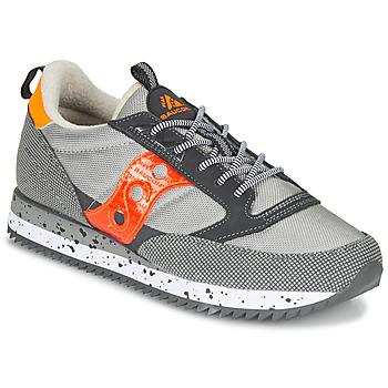 Schoenen Lage sneakers Saucony JAZZ (PEAK) Grijs / Rood / Orange