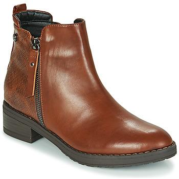 Schoenen Dames Laarzen Xti 44721 Brown