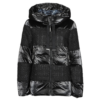 Textiel Dames Dons gevoerde jassen Desigual ALFA Zwart