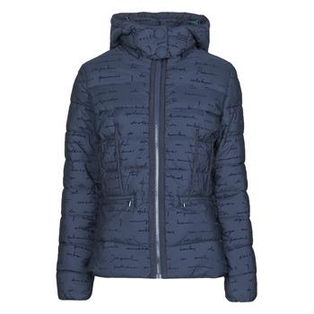 Textiel Dames Dons gevoerde jassen Desigual NATASHA Blauw