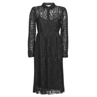 Textiel Dames Korte jurken Cream ALICIA DRESS Zwart