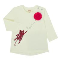 Textiel Meisjes T-shirts met lange mouwen Catimini CR10063-11 Roze