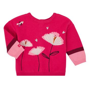 Textiel Meisjes Vesten / Cardigans Catimini CR18033-35 Roze