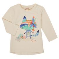 Textiel Meisjes T-shirts met lange mouwen Catimini CR10053-12 Wit