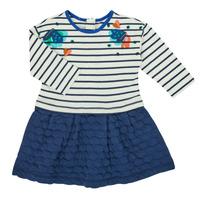 Textiel Meisjes Korte jurken Catimini CR30133-12 Multicolour