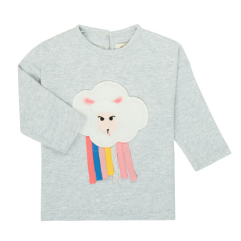 Textiel Meisjes T-shirts met lange mouwen Catimini CR10093-21 Grijs