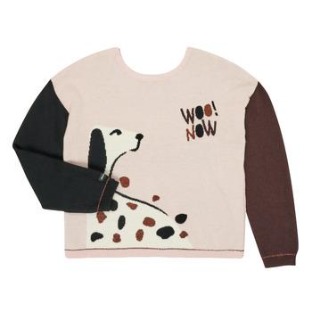 Textiel Meisjes Truien Catimini CR18115-34-J Multicolour