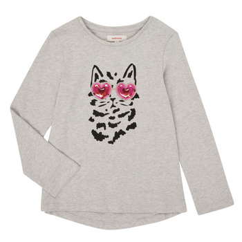 Textiel Meisjes T-shirts met lange mouwen Catimini CR10275-26-J Grijs
