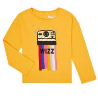 Textiel Meisjes T-shirts met lange mouwen Catimini CR10135-72-C Geel