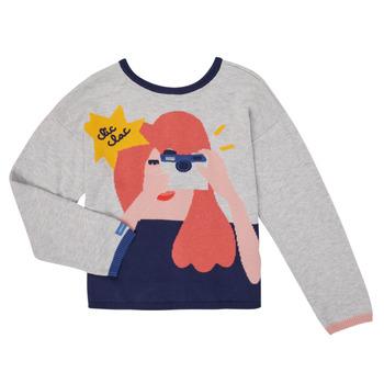 Textiel Meisjes Vesten / Cardigans Catimini CR18055-21-C Multicolour
